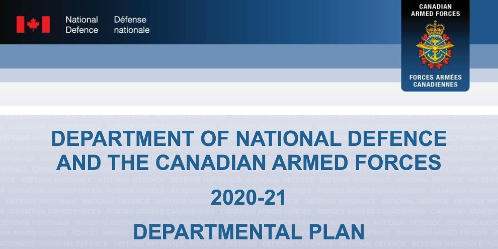 Department Of National Defence Budget For 2020 21 Set At 23 4 Billion Spaceq