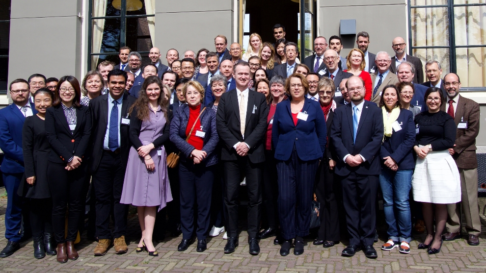 The first Hague International Space Resources Governance Working Group in April, 2018.