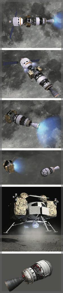 NASA Glenn Research Center Team Lunar Lander Design