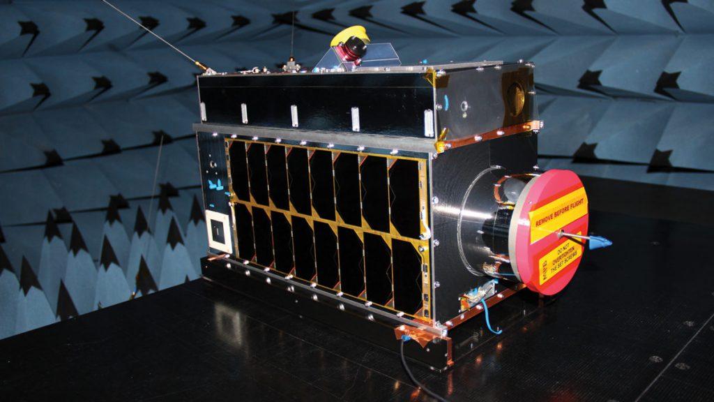 GHGSat-C1 Iris satellite