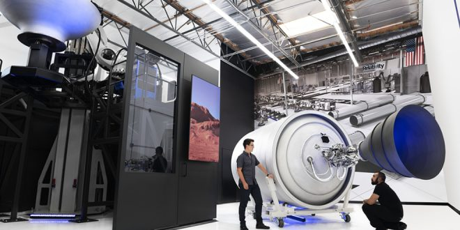 Relativity Space is using automation, including 3D printing for aerospace manufacturing
