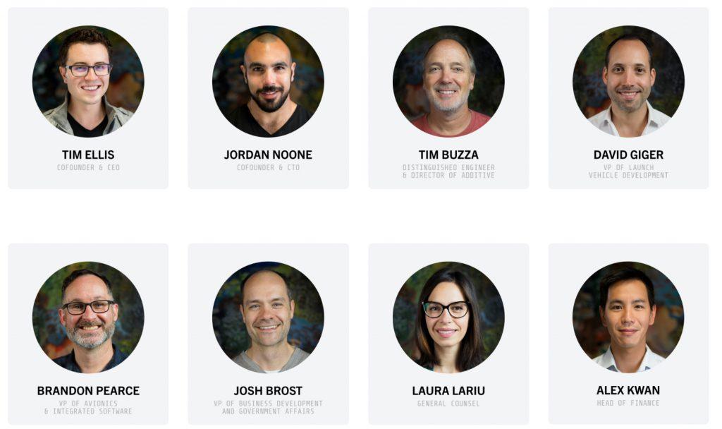 The current management team
