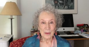 Margaret Atwood reads the Full Moon Mall