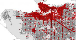 An example of Vancouver open data businesses