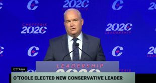 New Conservative Party Leader Erin O'Toole