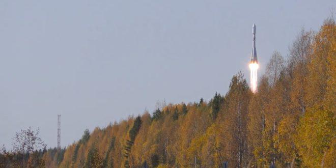 Soyuz launch of the three Gonets M satellites, Kepler Communications Kepler-4 and Kepler-5 satellites and 17 other small satellites.