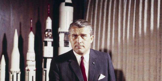 Dr. Wernher von Braun, director of Marshall Space Flight Center