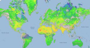 Pulse global methane emissions map