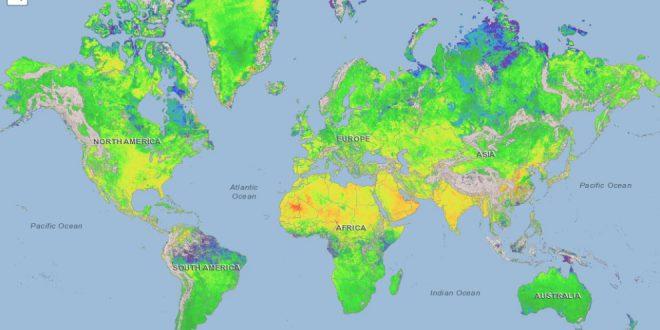Pulse global methane emissions map