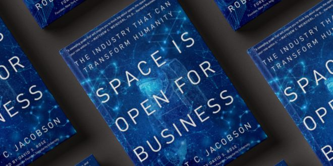 Space is Open for Business book cover