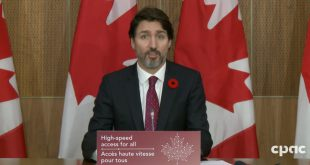 Prime Minister Trudeau announces Universal Broadband Fund