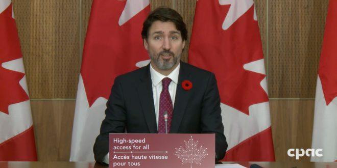 Prime Minister Trudeau announces Universal Broadband Fund