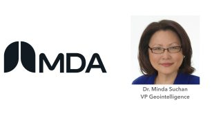Dr. Minda Suchan Vice President Geointelligence MDA