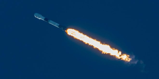 SpaceX Falcon 9 launch of Starlink satellites