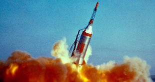 NASA Project Mercury Little Joe 1B launch escape system test failure on January 21, 1960.
