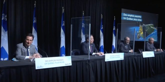 Government of Québec announces investment in Telesat's lightspeed