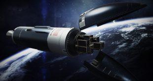 Artist illustration the Phantom Space rocket