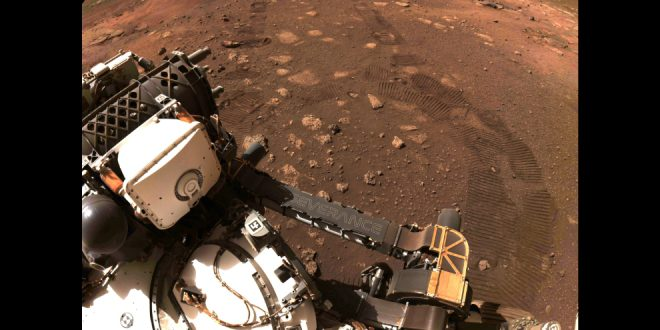 Change of plans – Mars Perseverance rover takes two drives