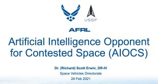 Artificial Intelligence for Contested Space