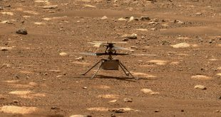 NASA Ingenuity Helicopter on Mars