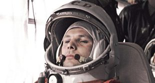 Doing Business in the Solar System, podcast episode 1: Yuri Gagarin in the bus on the way to the launch pad from where he made history in 1961.