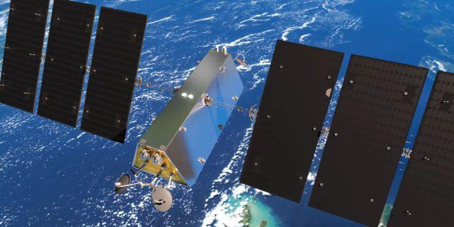 Telesat Lightspeed LEO satellite illustration