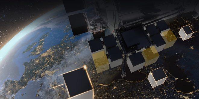 European Space Agency Bartolomeo external platform on the International Space Station