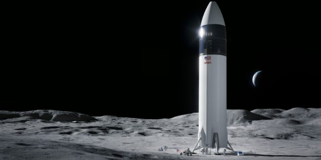 Upstart SpaceX will ferry NASA astronauts to the Moon's surface on Starship