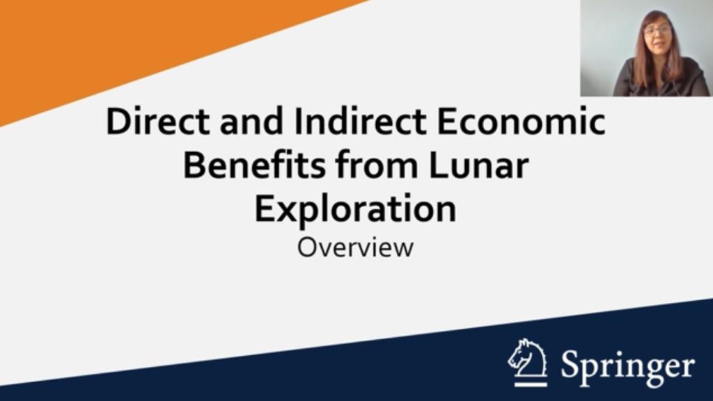 The Emerging Lunar Economy webinar. Credit: Springer Nature.