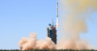 Long March-2C rocket from the Jiuquan Satellite Launch Center in northwest China