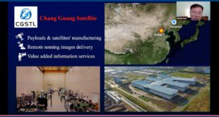 A China space industry webinar hosted by Euroconsult.
