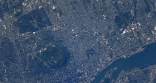 Astronaut Shane Kimbrough picture of Montreal