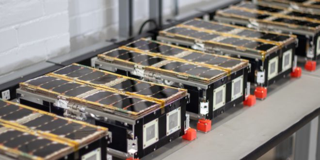 Kepler Communication satellites being prepared for launch