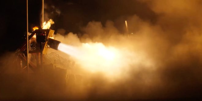 Space Concordia releases latest rocket engine hot fire test video