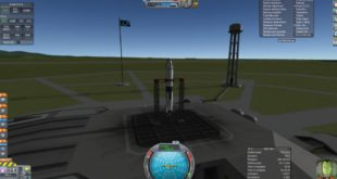 Recreating NASA's Project Mercury, the Redstone mission in the Kerbal Space Program