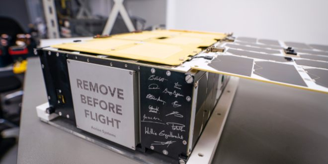 The D2 / Atlacom-1 nanosatellite will have the SkyWatch TerraStream data management solution onboard