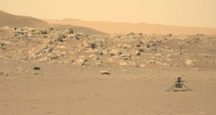 NASA's Mars Perseverance rover acquired this image using its Left Mastcam-Z camera. Mastcam-Z is a pair of cameras located high on the rover's mast.