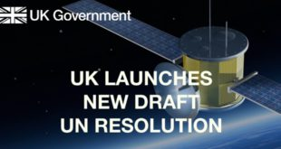 The United Kingdom launches new draft United Nations resolution for ASAT's