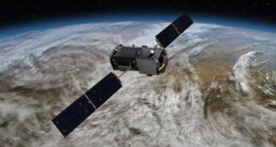 File photo of a NASA Earth observation satellite, the Orbiting Carbon Observatory (OCO)-2