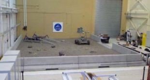 Indoor workspace for rovers