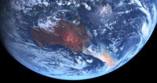Australia wildfires and algal blooms