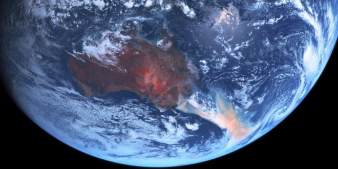 Earth and Space – Australia wildfires and algal blooms