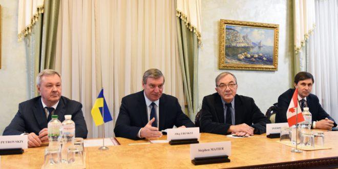 Ukraine makes push for Canadian spaceport